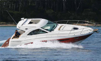 Essai Sea Ray 355 Sundancer