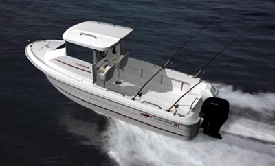 Smartliner, bateau de pêche disponible chez Dinard Marine