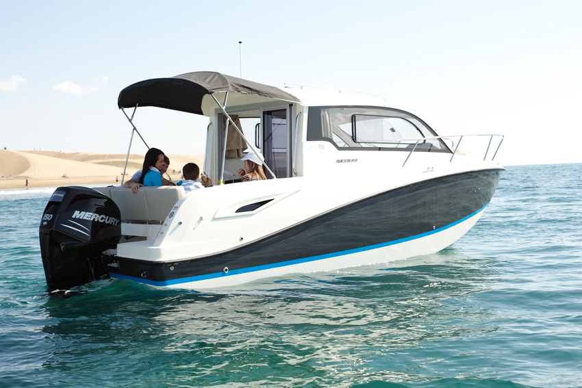 Découvrez le Quicksilver Activ 705 Cruiser à Bandol