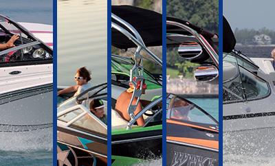 5 bateaux pour faire du wake