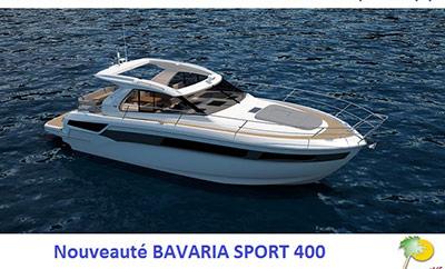 Nouveaux Bavaria Sport 360 et Sport 400