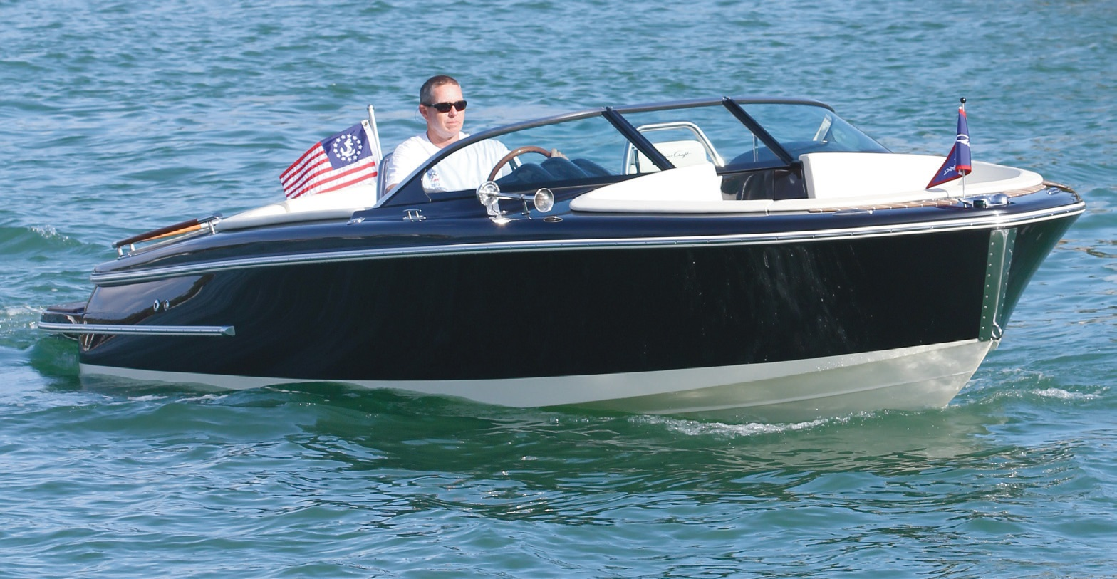 Essai Chris Craft Carina 21