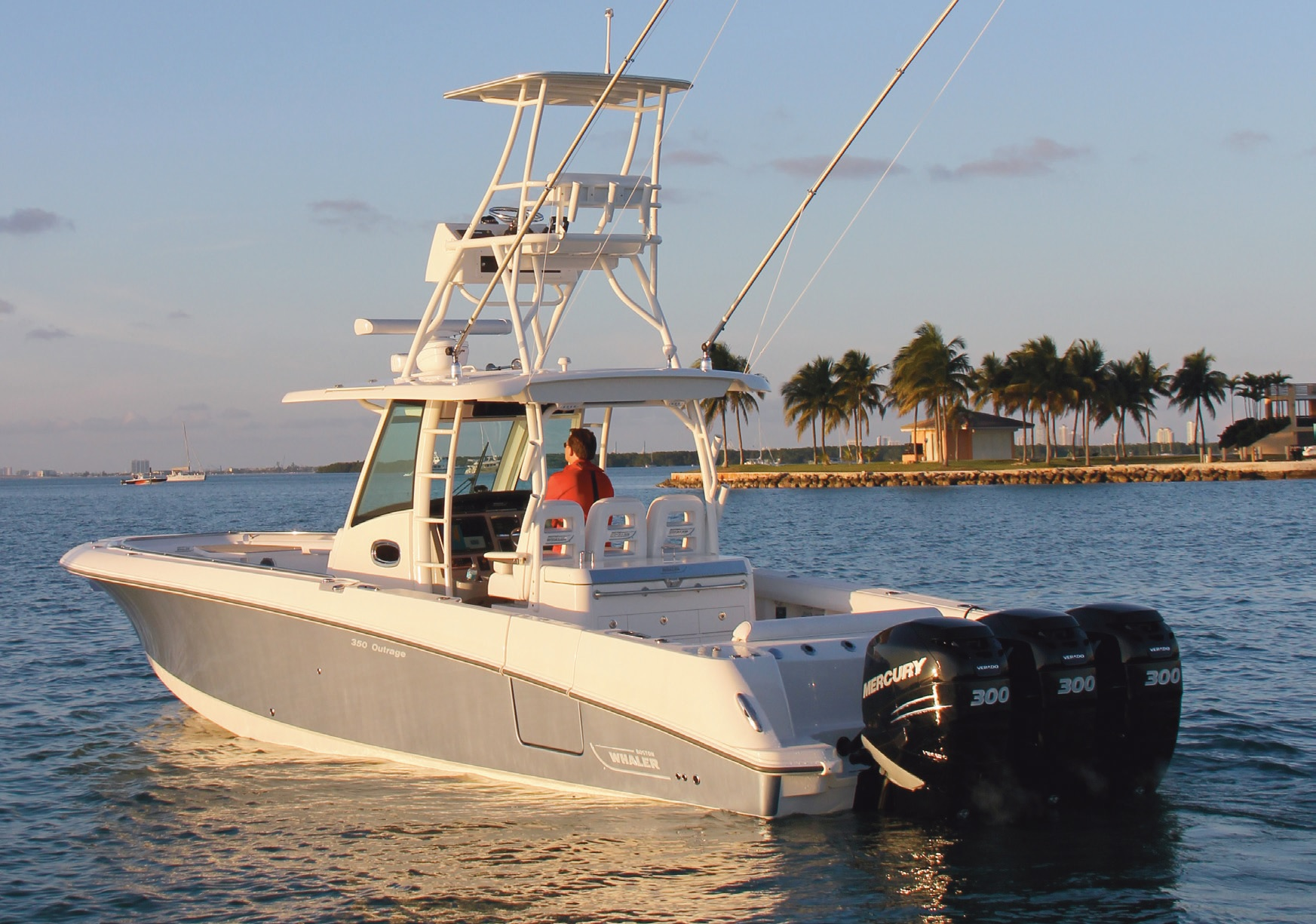 Essai Boston Whaler 350 Outrage
