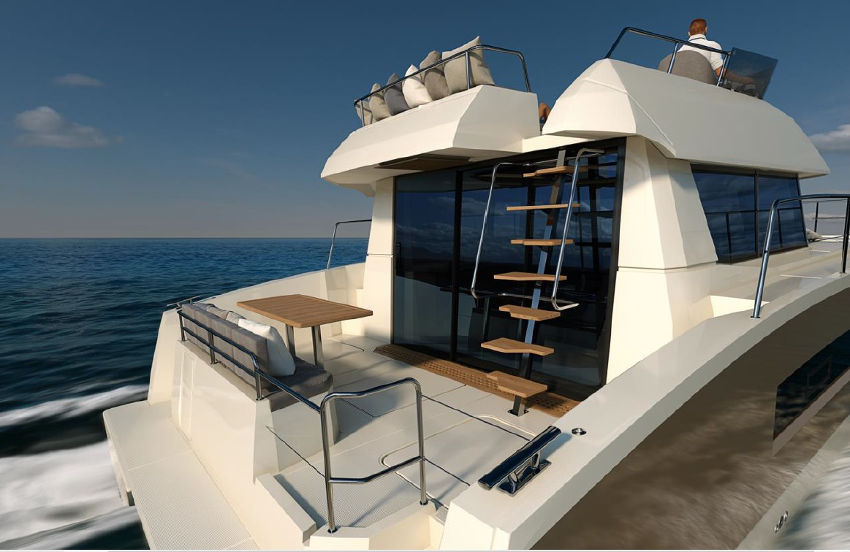 Nouveaut� Fountaine Pajot Motor Yacht My 37