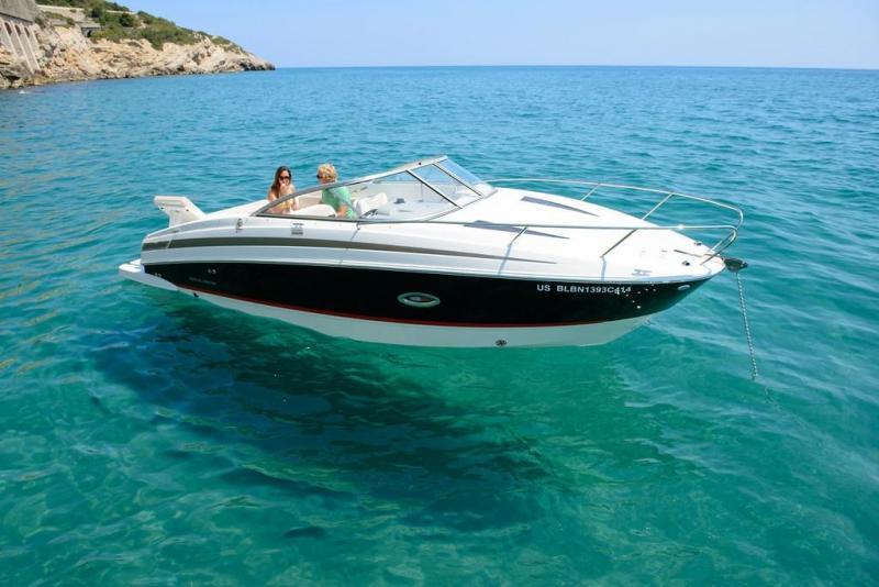 Bayliner d�barque chez Canet Boat Plaisance