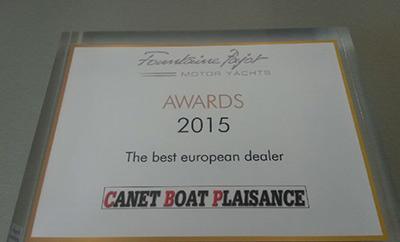 Canet Boat Plaisance recompensé par Fountaine Pajot