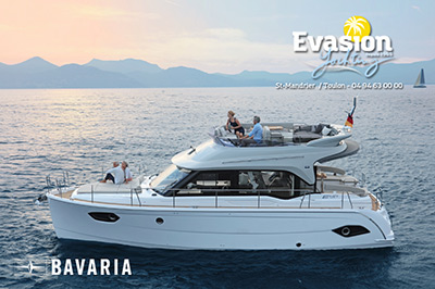 BAVARIA E 40 au Salon Nautique de Dusseldorf