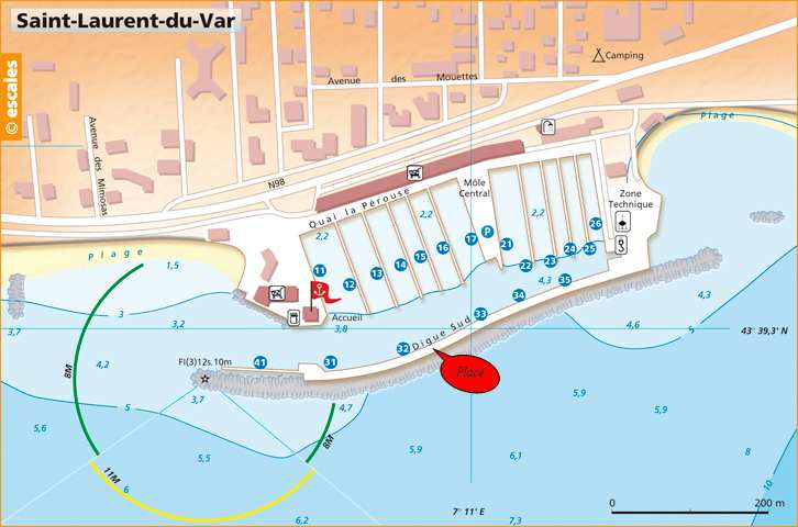 Photos de place de port saint laurent du var alpes maritimes images divers - Chambre des metier st laurent du var ...