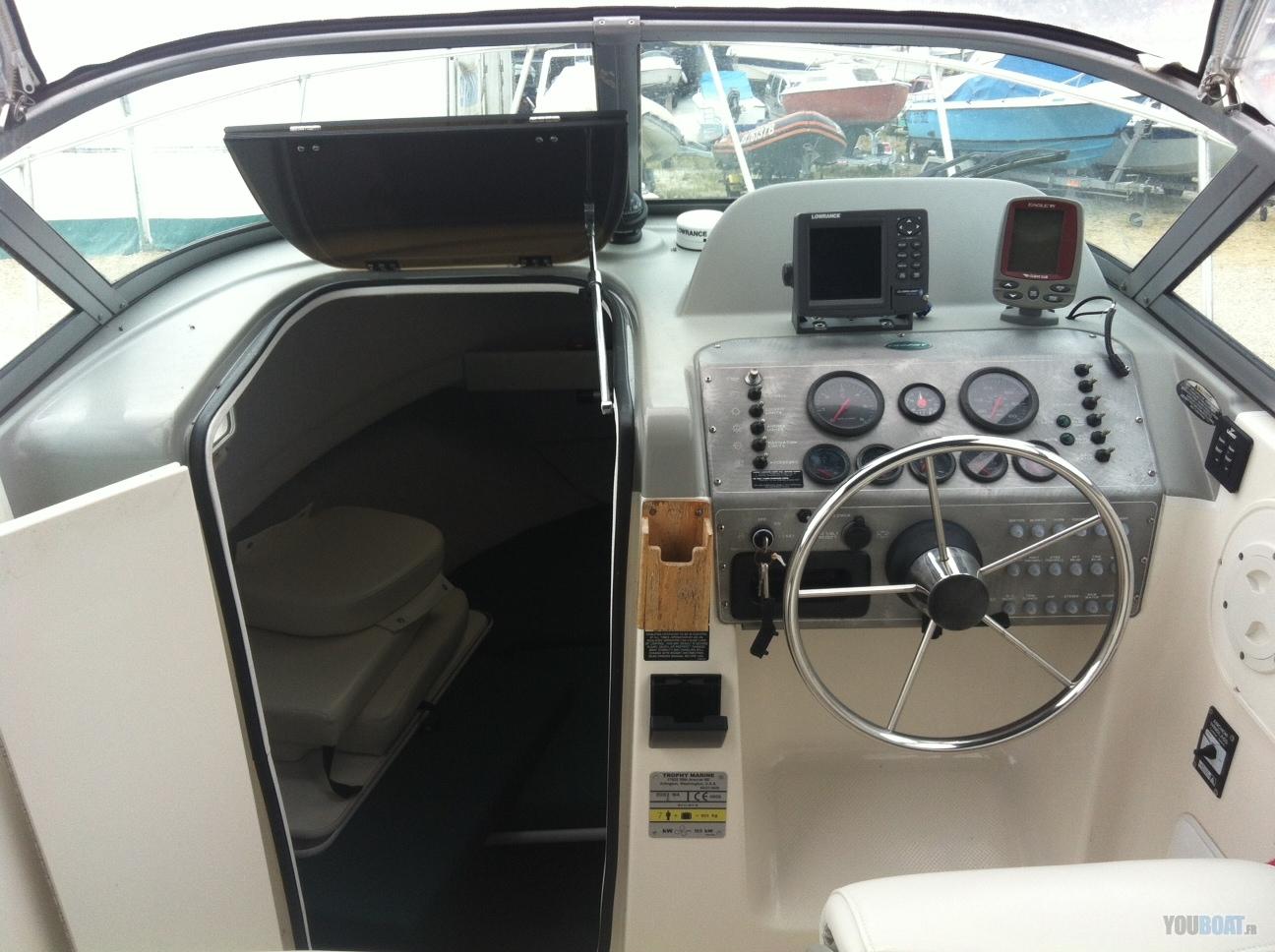 I Am Upgrading My Gps  Fishfinder On My Bayliner Trophy 2052