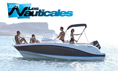Salon de la Ciotat : Bavaria, Quicksilver, Valiant et Black Fin