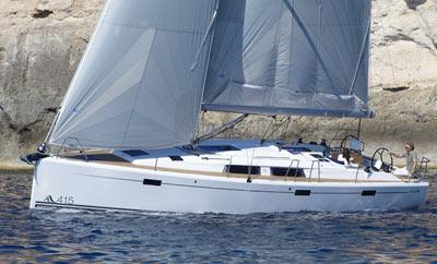 le Hanse 415 en avant-première au Cap d'Agde