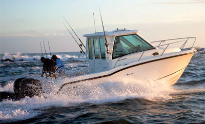 Boston Whaler 285 Conquest PH, le petit plus