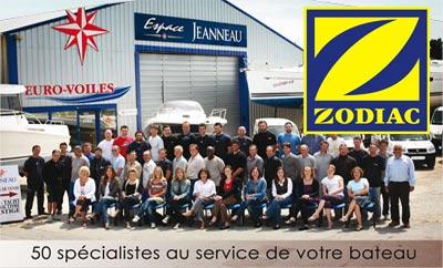 Nouveau concessionnaire Zodiac, EURO-VOILES