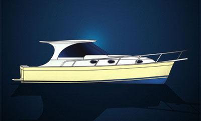 Mainship, nouveaux pilot 389