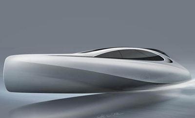 Un futur yacht de 45 pieds par Mercedes
