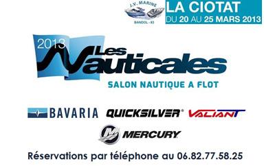 Bavaria, Quicksilver et JV Marine présent à la Ciotat