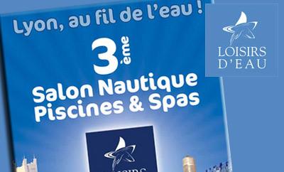 3ème édition du Salon international Loisirs d'Eau à Lyon