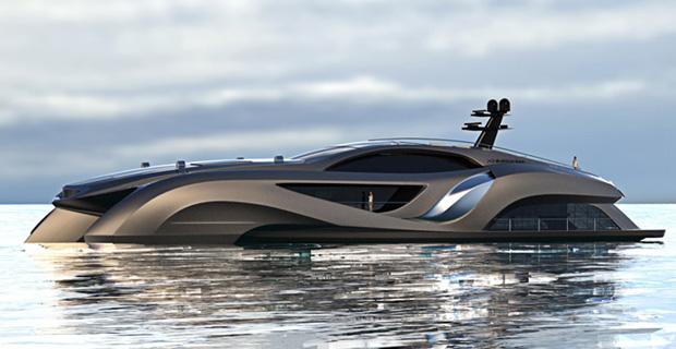 Et si Batman avait un Yacht, ca ressemblerait à quoi ?