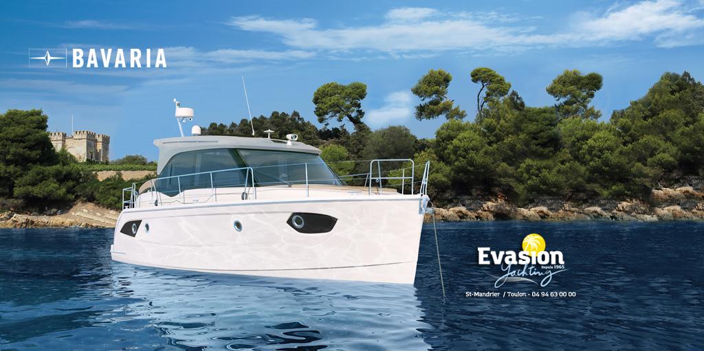 Nouveau Trawler Bavaria E 34