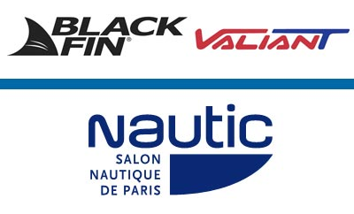 Valiant et Black Fin au Salon Nautique de Paris