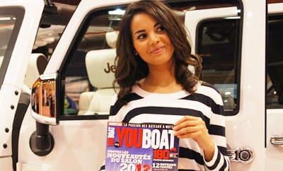 Salon nautique l 39 actualits bateaux moteur sur youboat for Salon nautique nantes